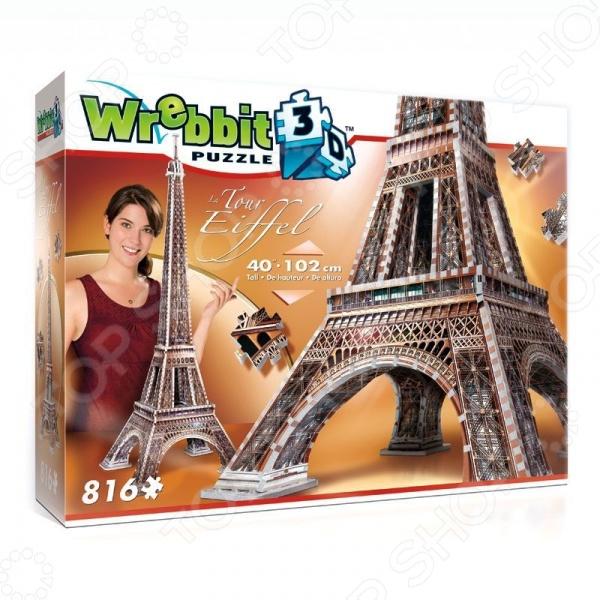 Пазл 3D Wrebbit «Эйфелева башня»Пазлы 3D<br>Пазл 3D Wrebbit Эйфелева башня позволит вам и вашему ребенку создать собственными руками уменьшенную копию известнейшего во всем мире сооружения. Собирая ее, ребенок развивает образное мышление, мелкую моторику рук, логику и внимательность. Кроме того, по завершению работы, перед вами появится отличная модель, которую можно разместить у себя на столе или другой поверхности, придав окружающему интерьеру оригинальности и индивидуальности.<br>