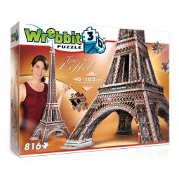 Купить Пазл 3D Wrebbit «Эйфелева башня»