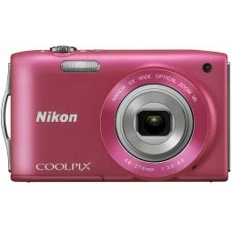 фото Фотокамера цифровая Nikon CoolPix S3300. Цвет: розовый