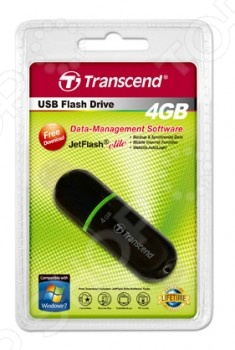 Флешка Transcend Jetflash 300 4Gb