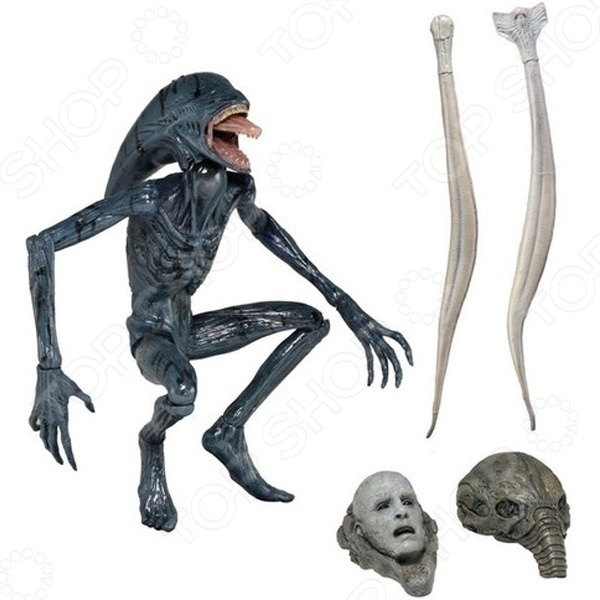 Игрушка-фигурка Neca Космическое чудовище фигурки игрушки neca фигурка planet of the apes 7 series 1 dr zaius