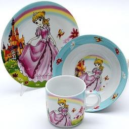 Купить Набор посуды для детей Mayer&Boch «Принцесса» MB-23392