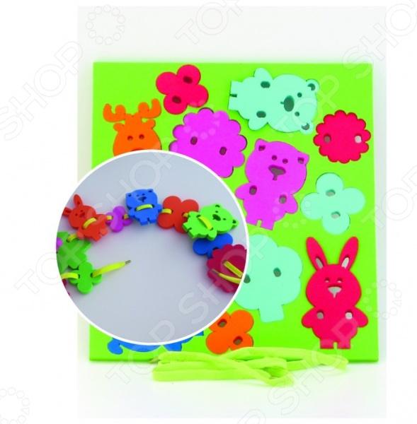 Игра развивающая для малыша El Basco «Шнуровка. Животные»