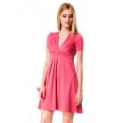 Фото Платье Mondigo 6087. Цвет: коралловый. Размер одежды: 42