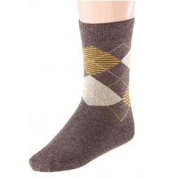 Купить Комплект носков детский Teller Argyle. Цвет: темно-синий, темно-коричневый