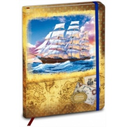фото Дневник школьный Проф-Пресс «Фрегат и море»