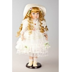 фото Кукла фарфоровая Shantou Gepai «Анисия»
