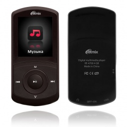 фото MP3-плеер Ritmix RF-4700. Цвет: черный. Встроенная память: 8 Гб