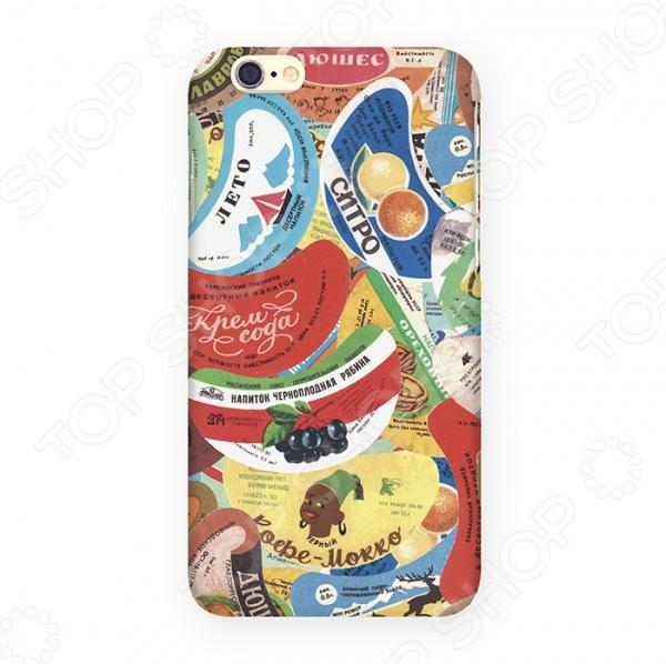 Чехол для iPhone 6 Mitya Veselkov «Газировка» чехол для iphone 5 mitya veselkov газировка