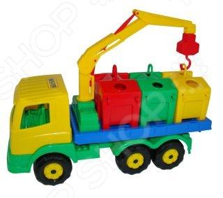 Машинка игрушечная Полесье «Контейнеровоз»