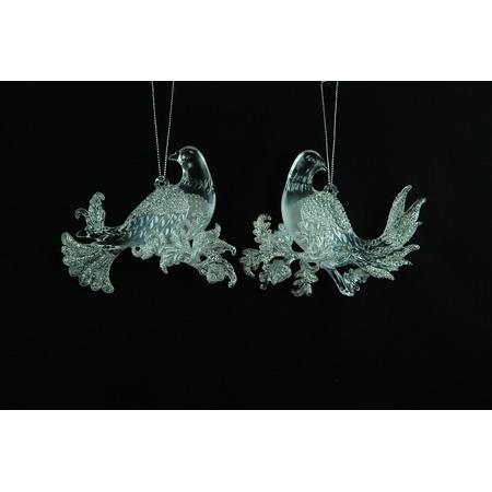 Купить Елочное украшение Crystal Deco «Голубь» 1707672. В ассортименте