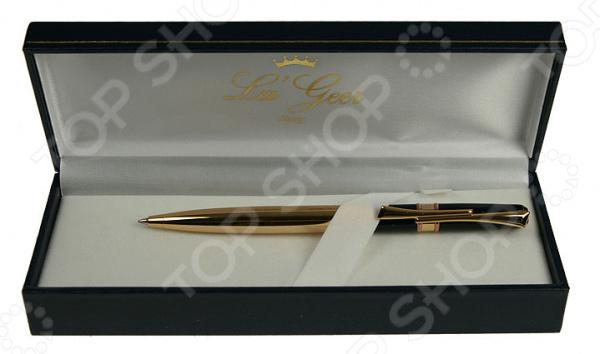 Ручка шариковая La Geer 50289-BPРучки и аксессуары<br>Ручка шариковая La Geer 50289-BP канцелярская шариковая ручка, которая прекрасно лежит в руке и очень практична в любой ситуации. Выполнена из прочного материала и снабжена креплением для кармана. Стильный дизайн сделает эту ручку подходящим подарком для друга или коллеги.<br>