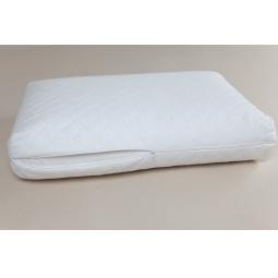 фото Наволочка из велюра для ортопедических подушек с выемкой под плечо Домашний уют
