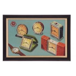 фото Поднос-столик Феникс-Презент «Ретро-часы»