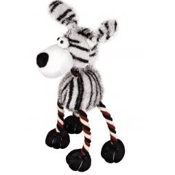 фото Игрушка для собак DEZZIE «Зебра» 5625919