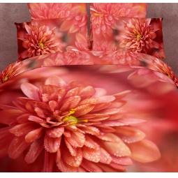 фото Комплект постельного белья Domomania Ruby. Satin Fotoprint. Евро