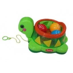 фото Игрушка-каталка Shantou Gepai «Черепашка с шариками»
