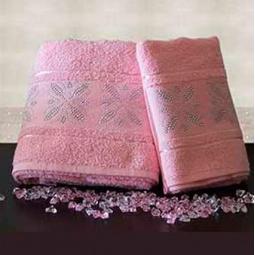 Купить Набор из 2-х полотенец для ванной TURKIZ 2КТ-0020/2