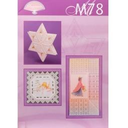 Купить Набор схем для парчмента Pergamano М78 Новогодние поздравления