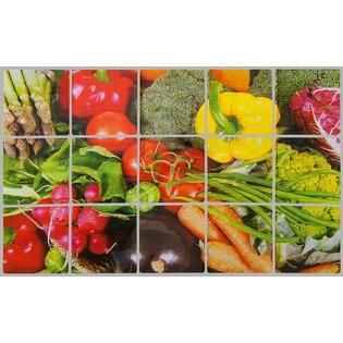 Купить Стикер защитный на кафель Marmiton «Овощи» 17102