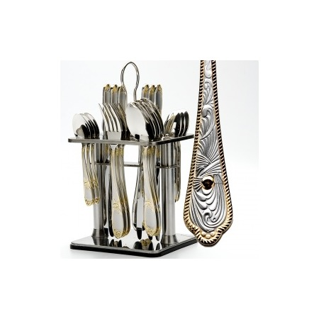 Купить Набор столовых приборов на подставке Mayer&Boch MB-23103