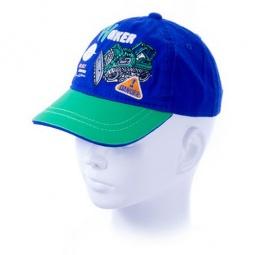 Купить Бейсболка для мальчика ЧУДО-КРОХА Danger ЯВ119677. Цвет: голубой, зеленый