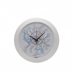 фото Часы настенные Mitya Veselkov «Карта метро»