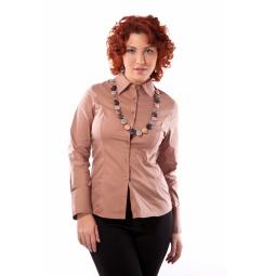 фото Блузка Mondigo XL 9644. Цвет: карамельный. Размер одежды: 52