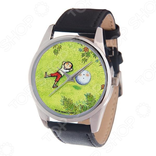 Часы наручные Mitya Veselkov «Карапуз и снежок» MV браслеты для часов mitya veselkov ремешок для часов 18мм