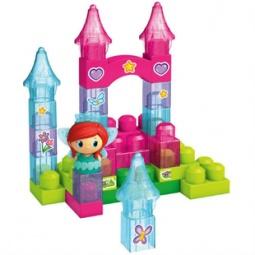 Купить Конструктор для малышей Mega Bloks «Сверкающая башня»
