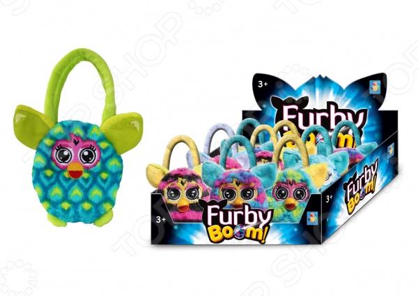 Сумочка детская 1 Toy Furby Т57554 плюшевая игрушка furby сумочка в горох 12 см хенгтег