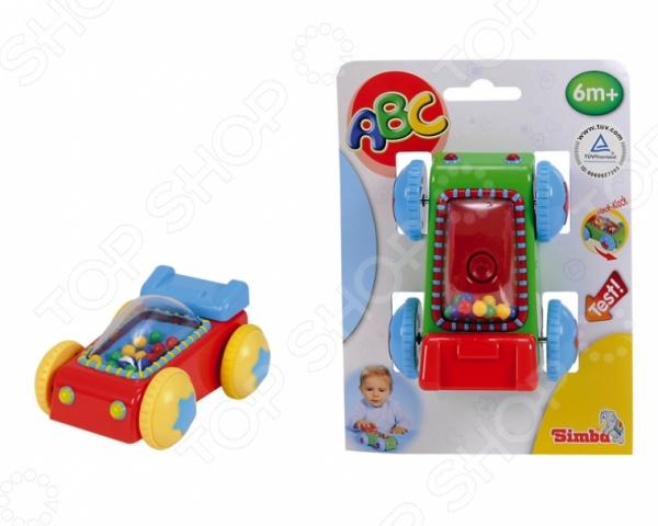 Игрушка-погремушка Simba «Машинка». В ассортиментеПогремушки. Подвески<br>Товар продается в ассортименте. Вид изделия при комплектации заказа зависит от наличия товарного ассортимента на складе. Игрушка-погремушка Simba Машинка с инерционным механизмом станет чудесным подарком для вашего крохи. Игры с ней будут способствовать развитию у малыша мелкой моторики рук, координации движений, хватательного рефлекса и сенсорного восприятия. Погремушка выполнена в ярких красочных цветах из высококачественных нетоксичных материалов. Ее края закруглены во избежание травмирования ребенка. Предназначено для детей в возрасте от 6-ти месяцев.<br>
