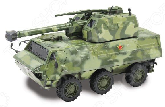 Модель бронетранспортера Пламенный Мотор «С танковой пушкой на башне»