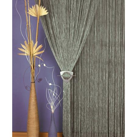 Купить Гардина-лапша Haft 203883/250. Цвет: серый
