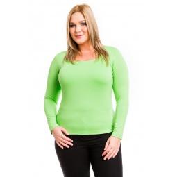 фото Кофта Mondigo XL 7014. Цвет: салатовый. Размер одежды: 52