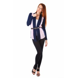 фото Кардиган Mondigo 8513. Цвет: темно-синий. Размер одежды: 42