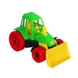 фото Машинка игрушечная Нордпласт «Трактор с грейдером» 06151