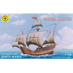 фото Сборная модель морского судна Моделист «Корабль Колумба. Санта-Мария»