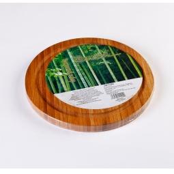 фото Доска разделочная из бамбука. Модель: 11204. Диаметр: 20 см