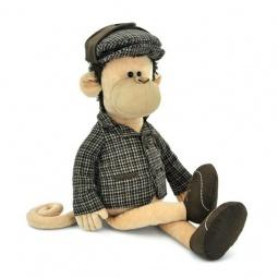 фото Мягкая игрушка Orange «Обезьяна Шерлок»