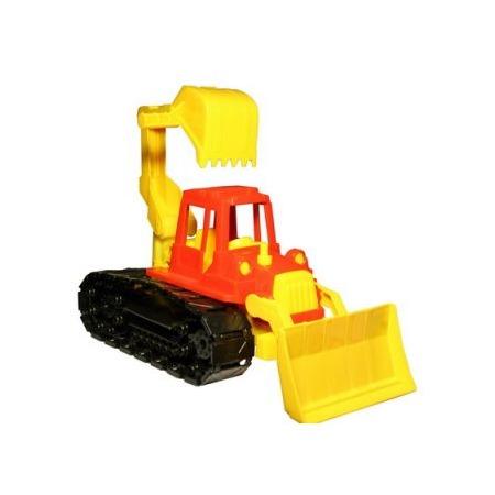 Купить Машинка игрушечная Нордпласт «Трактор Байкал с грейдером и ковшом»