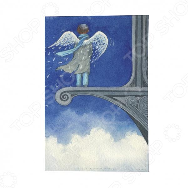 Обложка для автодокументов Mitya Veselkov «Ангел в небесах»
