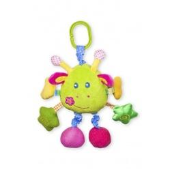 фото Мягкая игрушка развивающая Жирафики «Жираф озвученный»
