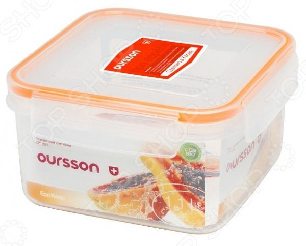 Контейнер для хранения продуктов Oursson Eco Keep CP1102S/TO ополаскиватель для посудомоечной машины eco max гипоаллергенный 450 мл