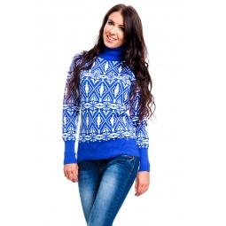 фото Свитер Mondigo 10001. Цвет: синий. Размер одежды: 42
