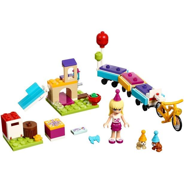 фото Конструктор игровой LEGO «День рождения: велосипед»