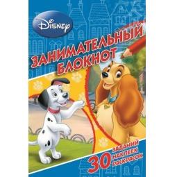 фото Классические персонажи Disney. Занимательный блокнот (+ наклейки)