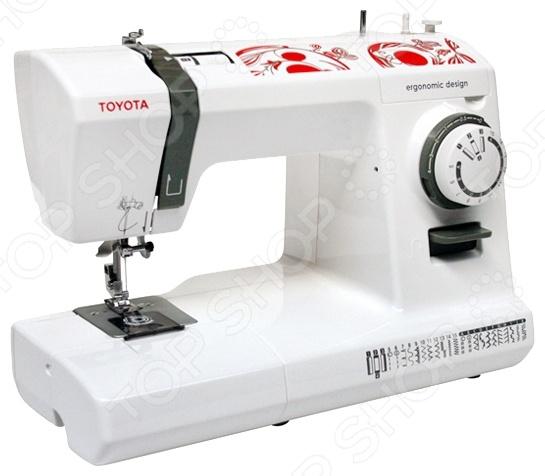 Швейная машина Toyota ECO 26C электромеханическая швейная машина vlk napoli 2100