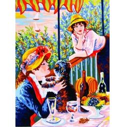 Купить Канва с нанесенным рисунком Collection D'art 10247
