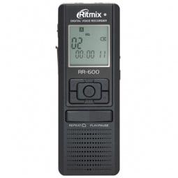 фото Диктофон Ritmix RR-600. Объем встроенной памяти: 2 Гб